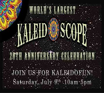 20th Anniversary Celebration of the World's Largest Kaleidoscope