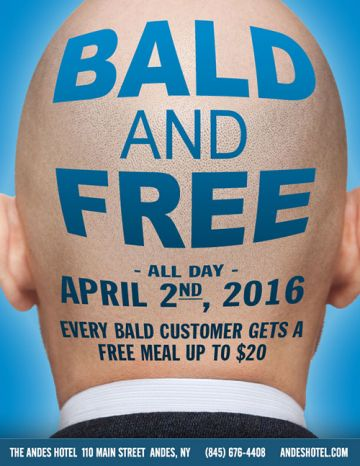 4.2-BALD AND FREE ALL DAY LONG-ANDES HOTEL