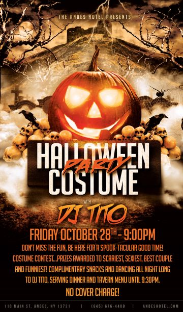 Halloween Costume Party W/ Dj Tito