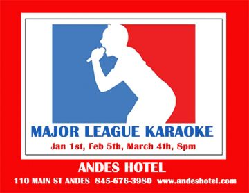 2.5-KARAOKE WITH DJ TITO, 8:00pm