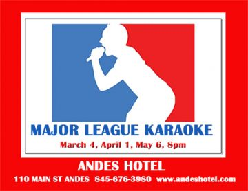 4.1-KARAOKE WITH DJ TITO, 8:00pm-ANDES HOTEL