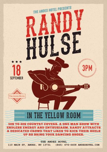 Randy Hulse at the Andes Hotel